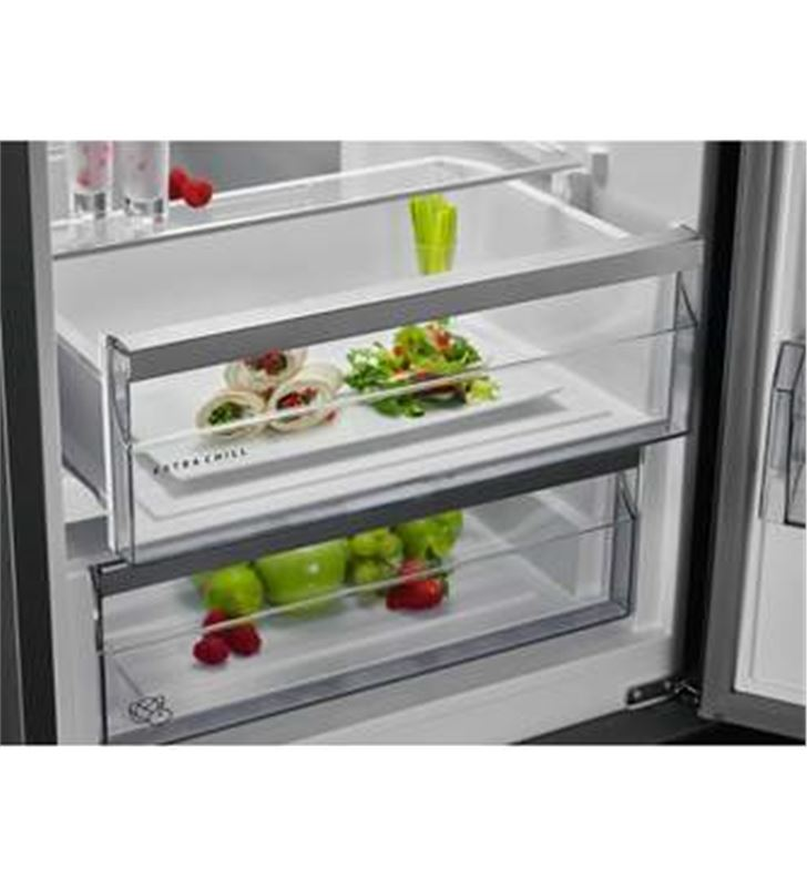 Aeg RCB736D3MW frigorífico combi clase d 201x59,5 no frost blanco - 7332543748907-1