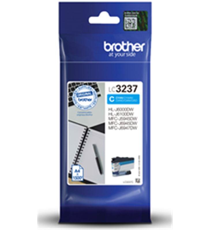Brother LC3237C cartucho de tinta cian - 1500 páginas - compatible según es - BRO-C-LC3237C