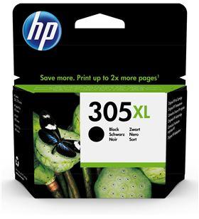 Cartucho de tinta negro Hp nº305xl - 240 páginas aprox. - compatible según 3YM62AE - 3YM62AE