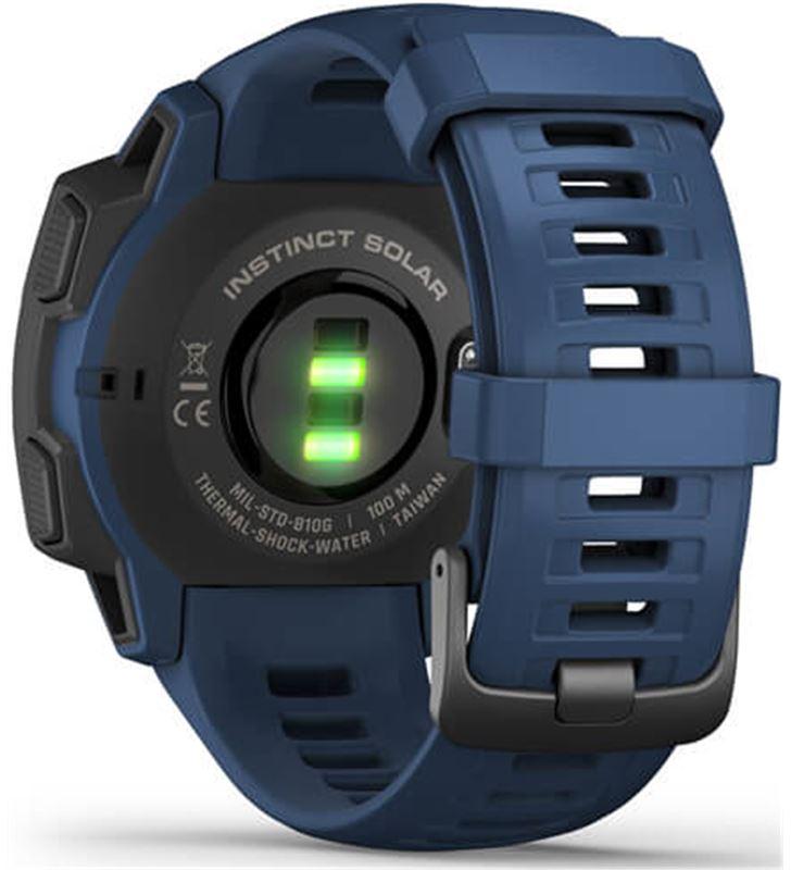 Garmin 010-02293-01 reloj deportivo instinct solar azul - pantalla 23*23mm - carga solar - 80218157_9664880251