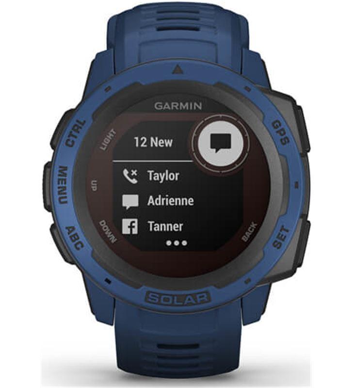 Garmin 010-02293-01 reloj deportivo instinct solar azul - pantalla 23*23mm - carga solar - 80218157_9734733124