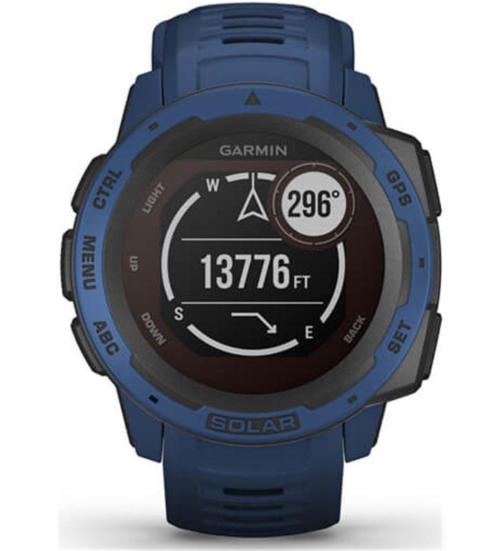 Garmin 010-02293-01 reloj deportivo instinct solar azul - pantalla 23*23mm - carga solar - 80218157_0484494149