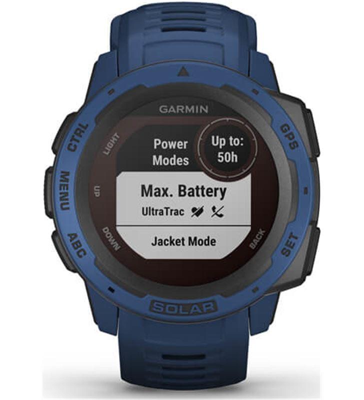 Garmin 010-02293-01 reloj deportivo instinct solar azul - pantalla 23*23mm - carga solar - 80218157_7465191265