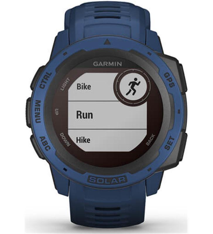 Garmin 010-02293-01 reloj deportivo instinct solar azul - pantalla 23*23mm - carga solar - 80218157_4534325331