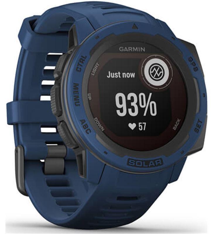 Garmin 010-02293-01 reloj deportivo instinct solar azul - pantalla 23*23mm - carga solar - 80218157_7438656260