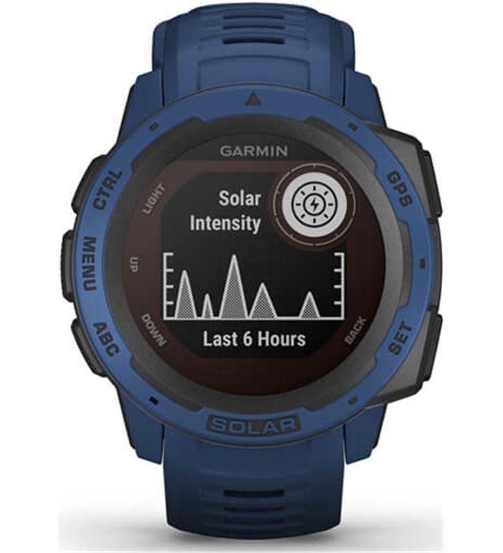 Garmin 010-02293-01 reloj deportivo instinct solar azul - pantalla 23*23mm - carga solar - 80218157_1599091077