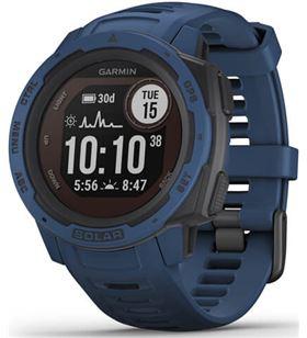 Reloj deportivo Garmin instinct solar azul - pantalla 23*23mm - carga solar 010-02293-01 - 010-02293-01