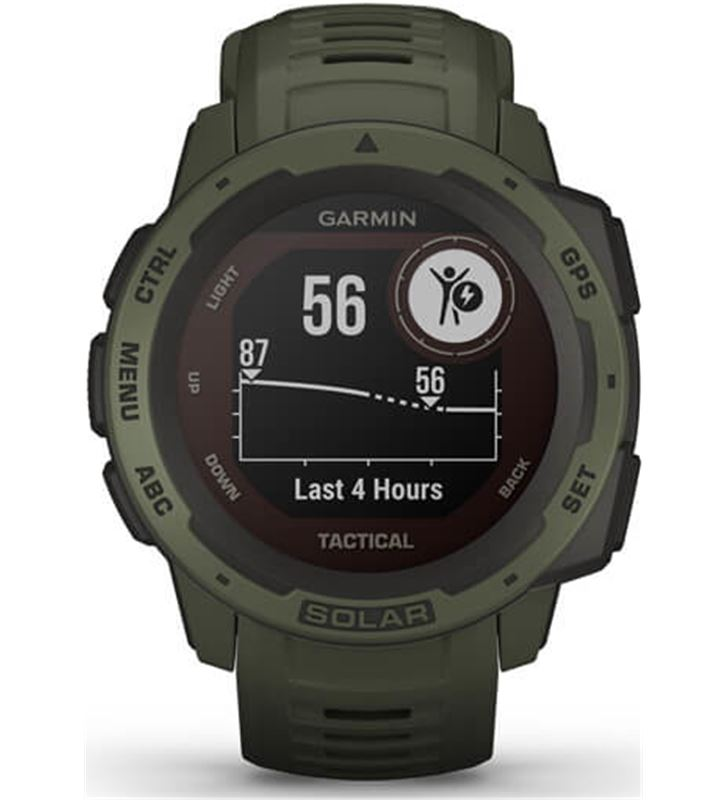 Garmin 010-02293-04 reloj deportivo con gps instinct solar tactical verde militar - pant - 80217494_1716167171