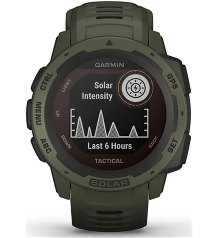 Garmin 010-02293-04 reloj deportivo con gps instinct solar tactical verde militar - pant - 80217494_5855801649