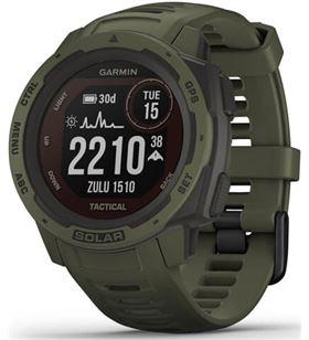 Reloj deportivo con gps Garmin instinct solar tactical verde militar - pant 010-02293-04 - 010-02293-04