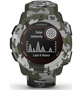 Reloj deportivo con gps Garmin instinct solar camo militar - pantalla 23*23 010-02293-06 - 010-02293-06