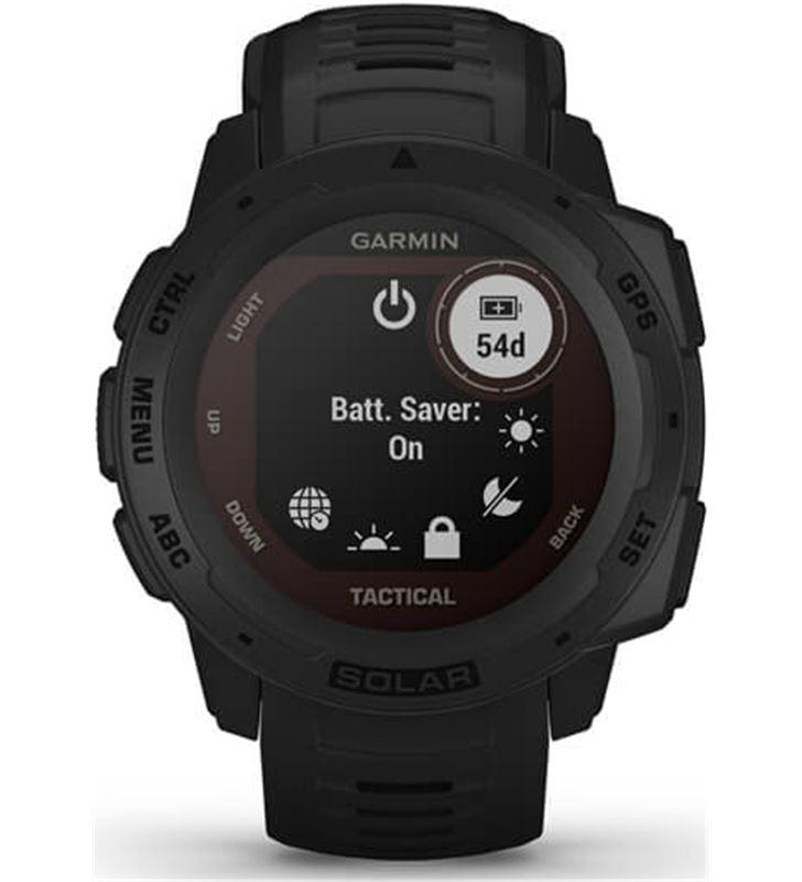Reloj deportivo con gps Garmin instinct solar tactical negro - pantalla 23* 010-02293-03 - 80217471_7968284545