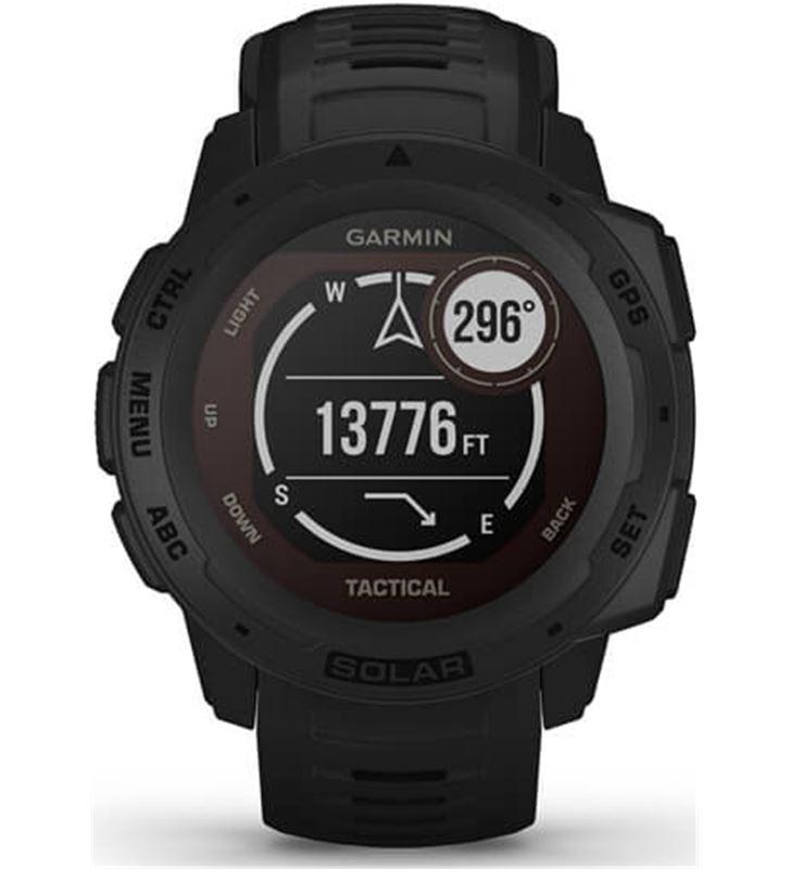 Reloj deportivo con gps Garmin instinct solar tactical negro - pantalla 23* 010-02293-03 - 80217471_2837889826