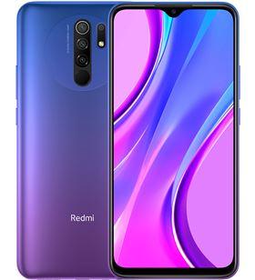 Smartphone móvil Xiaomi redmi 9 sunset purple - 6.53''/16.59cm - mtk helio g MZB9702EU - MZB9702EU