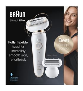 Depiladora Braun 9-002 silk epil 9 flex sensosmart - 9-002