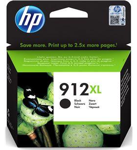 Cartucho de tinta negro Hp nº912xl - 825 páginas - compatible según especif 3YL84AE - 3YL84AE
