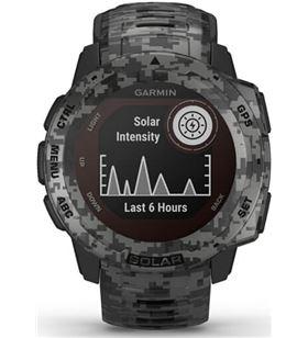 Reloj deportivo con gps Garmin instinct solar camo grafito - pantalla 23*23 010-02293-05 - 010-02293-05
