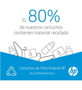 Cartucho de tinta color Hp nº305 - 100 páginas aprox. - compatible según es 3YM60AE - 3YM60AE