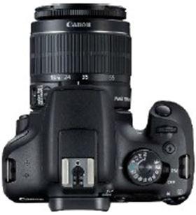 Cámara reflex Canon eos2000d 18-55dc+ bolsa+sd+limpiador 2728C054 - CAN2728C054