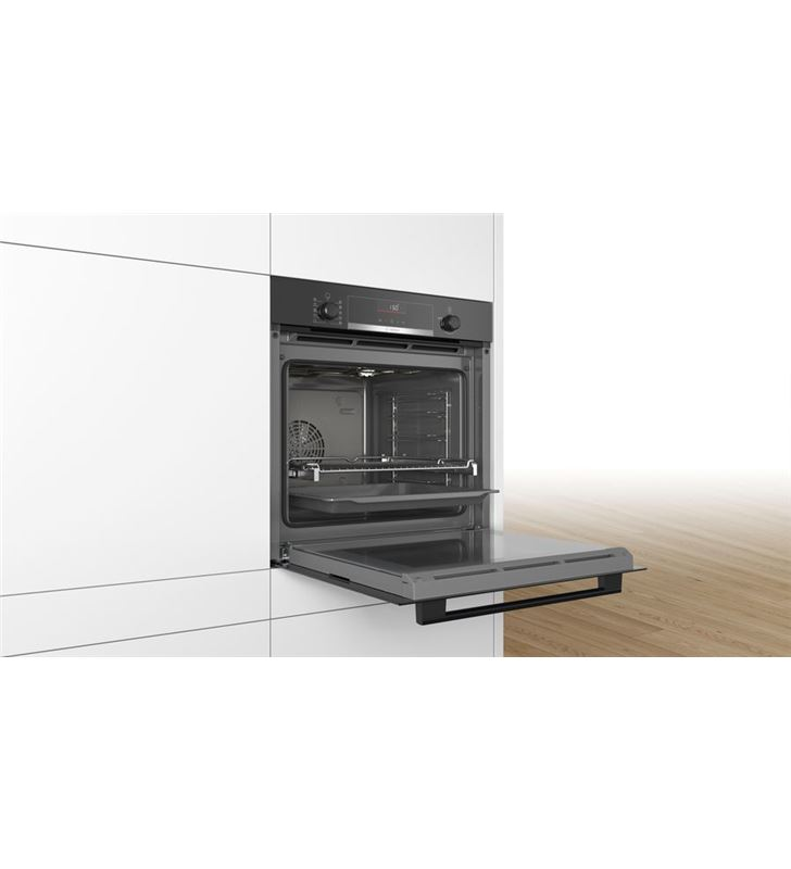 Bosch HBA5360B0 horno independiente multifunción vidrio negro - 78584491_1225065840
