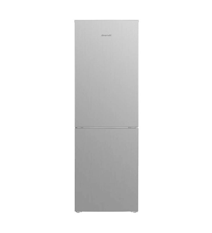 Brandt frigorífico combi BFC8610NX a+ 185x60 no frost acero inoxidabl - 3660767975613