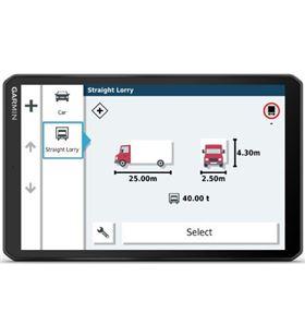 Garmin dezl lgv800 navegador para camión 8'' gps con mapas preinstalados de DEZL LGV800 MT- - +22535