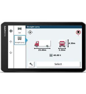 Garmin dezl lgv700 navegador para camión 6.95'' gps con mapas preinstalados DEZL LGV700 MT- - +22534