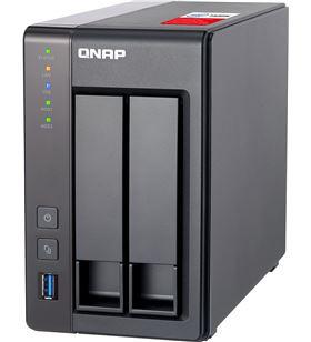 Sihogar.com nas qnap ts-251+-2g - 2 bahías (3.5/2.5) - cpu intel j1900 2.0ghz - 2gb ddr - QNAP-NAS TS-251 -2G
