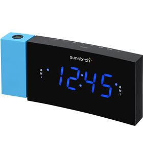 Radio despertador proyector Sunstech FRDP3BL, azul - FRDP3BL