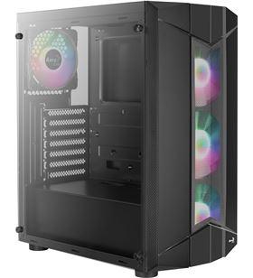 Caja semitorre Aerocool SENTINEL - usb 3.0/2*usb 2.0 - hd audio+mic - sopor - AER-CAJA SENTINEL