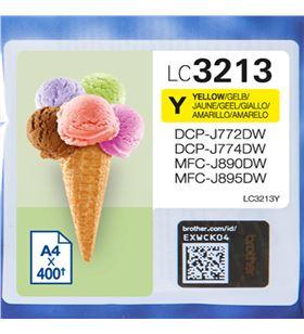 Cartucho de tinta amarillo Brother LC3213Y - hasta 400pag - compatible segú - BRO-C-LC3213Y