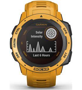 Garmin 010-02293-09 reloj deportivo instinct solar amarillo ocre - pantalla 23*23mm - ca - 010-02293-09