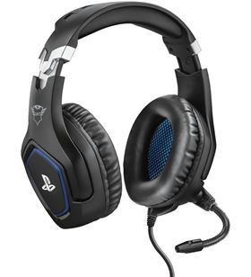 Auriculares gaming Trust gxt488 forze ps4 negro 23530 - TRU23530
