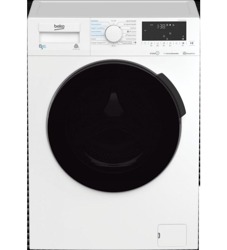 Beko lavadora-secadora carga frontal HTV8716DSW 8/5kg 1400rpm a - 8690842369520