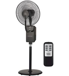 Haeger ventilador digital con humidificador black HF18R001A - 5608475016226