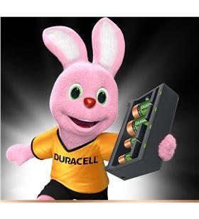Cargador de pilas Duracell CEF22-EU - carga 4 pilas simultaneas tipo aa/aaa - DRC-BAT CEF22-EU
