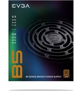 Sihogar.com fuente de alimentación evga 550 b5 550w - ventilador 13.5cm - eficiencia 80 220-b5-0550-v2 - 220-B5-0550-V2