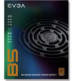 Sihogar.com fuente de alimentación evga 750 b5 750w - ventilador 13.5cm - eficiencia 80 220-b5-0750-v2 - 220-B5-0750-V2