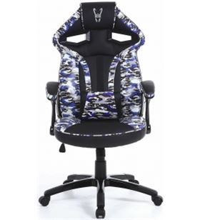 Silla gamer Woxter stinger station army blue - piston clase 4 - eje acero - GM26-058 - 66554926_0192035779