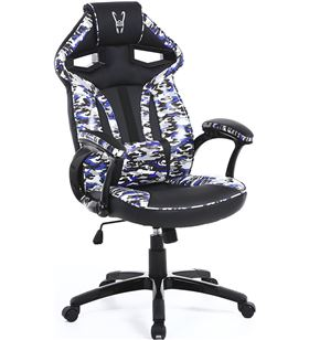 Silla gamer Woxter stinger station army blue - piston clase 4 - eje acero - GM26-058 - WOX-SILLA GM26-058