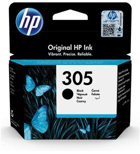 Cartucho de tinta negro Hp nº305 - 120 páginas aprox. - compatible según es 3YM61AE - 3YM61AE