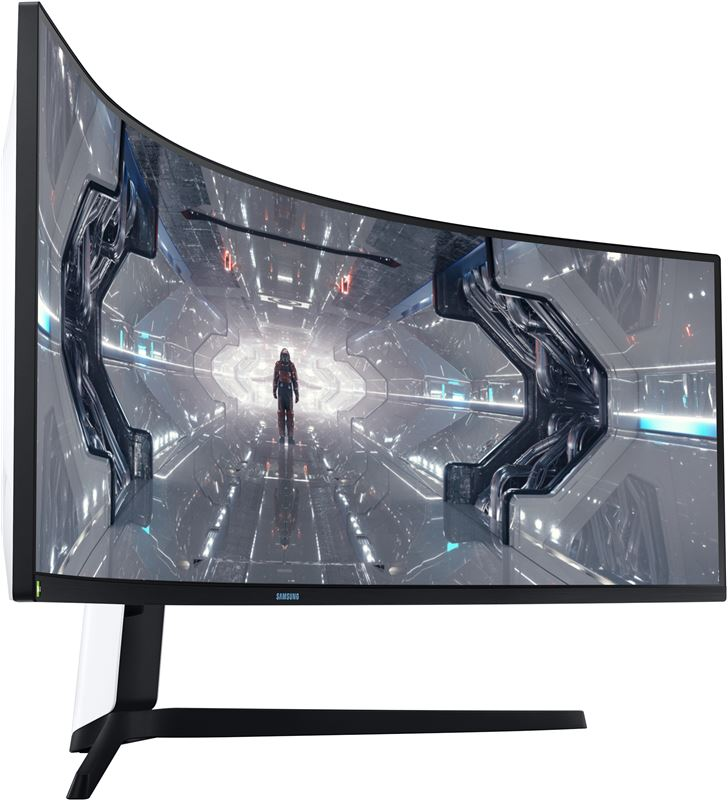 Monitor qled gaming curvo Samsung odyssey g9 lc49g95tssu - 49''/124cm - 5120 LC49G95TSSUXEN - 78509383_2656264424