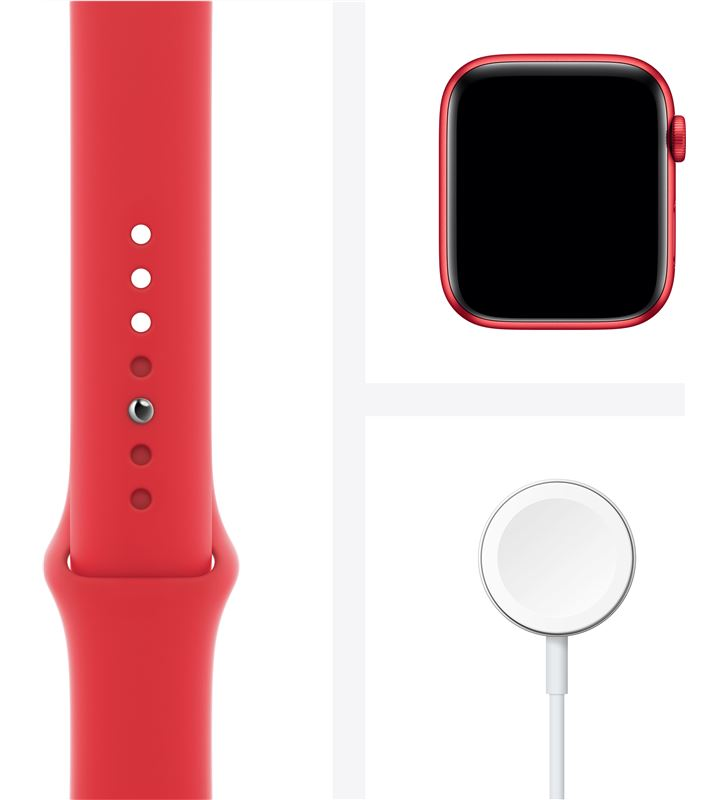 Apple watch s6 44mm gps cellular caja aluminio roja con correa roja sport b M09C3TY/A - 85936641_6375398315