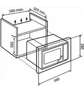 Teka 40581117 microondas mwe207fi integrable Microondas integrables - 40581117