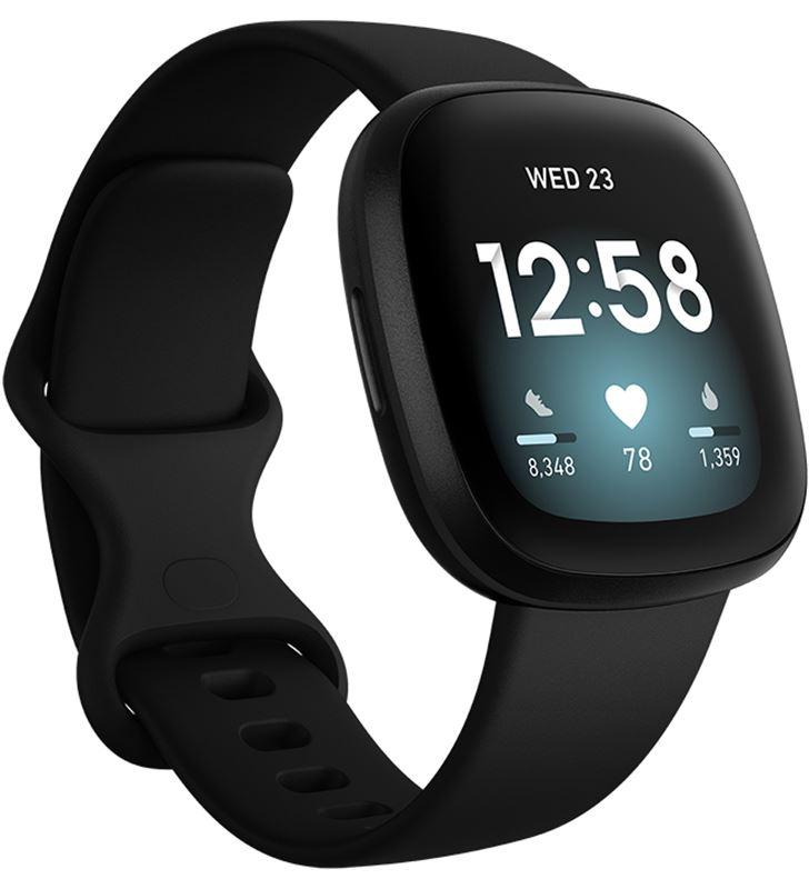Fitbit versa 3 negro/negro smartwatch asistentes google y alexa gps zona ac FB511BKBK VERSA - 85738343_5272179897