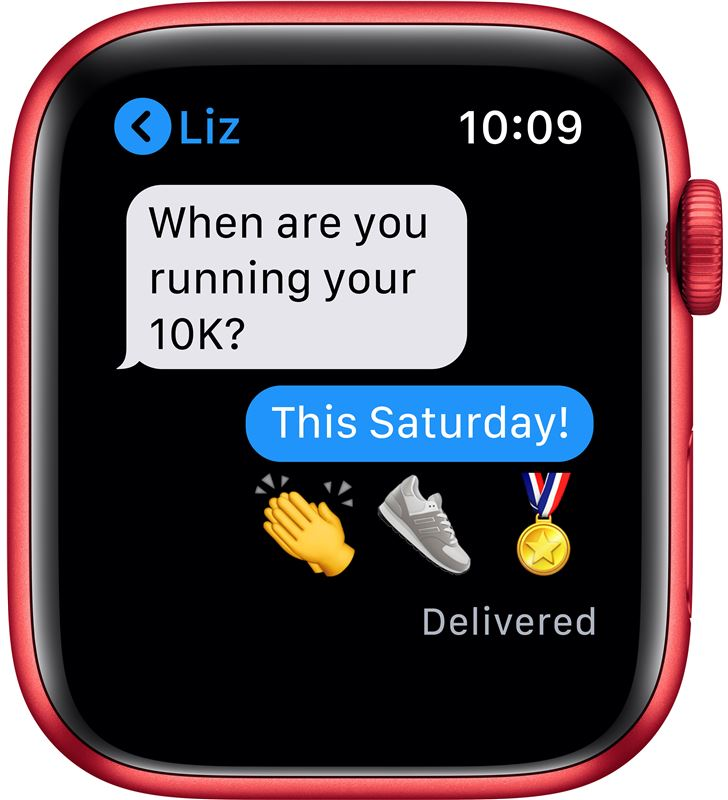 Apple watch s6 44mm gps cellular caja aluminio roja con correa roja sport b M09C3TY/A - 85936641_9712476357
