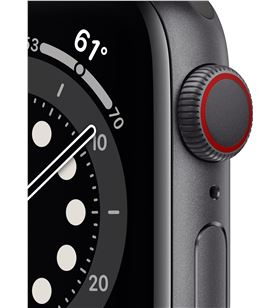 Apple watch s6 40mm gps cellular caja aluminio gris espacial con correa neg M06P3TY/A - M06P3TYA