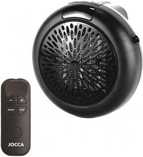Sihogar.com mini calefactor sin cable jocca 1477 - 600w - 2 velocidades - termostato re - C1483