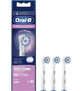 Braun recambio cepillo dental oralb eb 60-3 ffs sensitiv eb603ffs - EB603