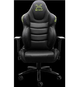 Sihogar.com silla gamer droxio troun pro nero - chasis metálico - apoyabrazos 3d - cili - TROUN PRO NERO